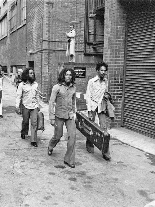 The Wailers Walk Thru The People