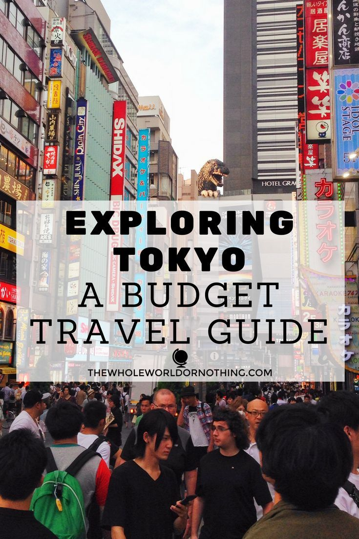 Tokyo Budget Travel Guide | How To Explore Tokyo, Japan On The Cheap