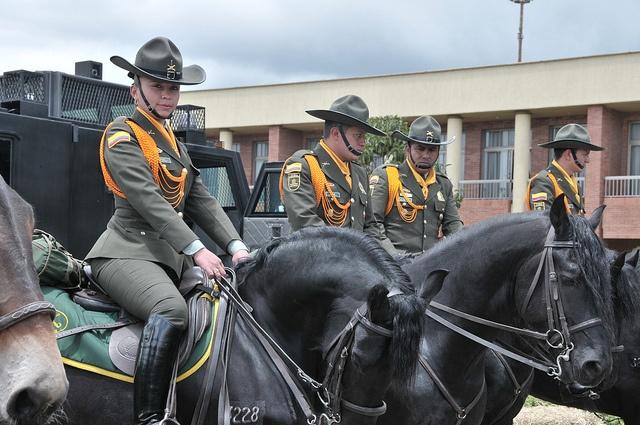 Carabineros de la Policía Nacional de Colombia