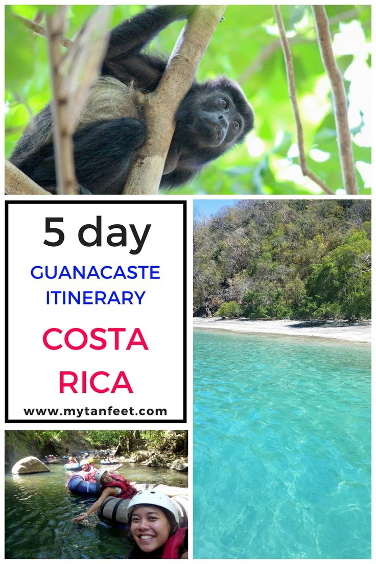 5 day itinerary in Guanacaste, Costa Rica https://mytanfeet.com/costa-rica-travel-tips/5-day-itinerary-in-guanacaste/