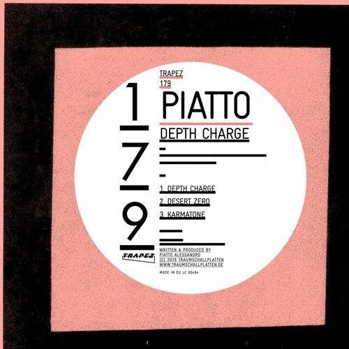 Piatto - Depth Charge / Trapez / TRAPEZ179 - http://www.electrobuzz.fm/2016/06/21/piatto-depth-charge-trapez-trapez179/