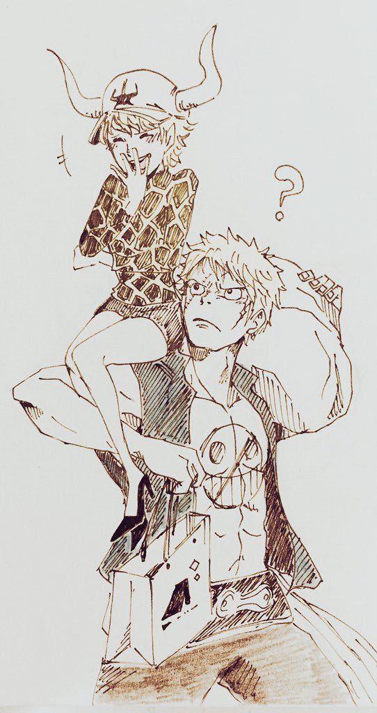 One Piece, Bellamy the Hyena, Dellinger.