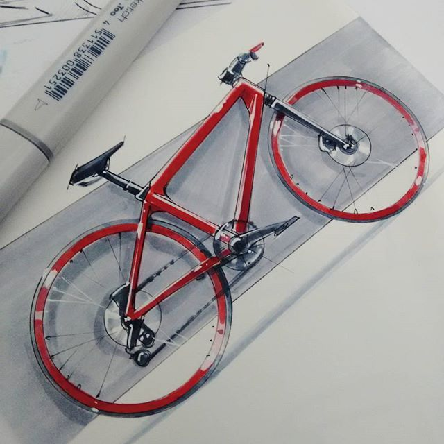 #bike #city #copic #sketch #mobility #shimano #industrialdesign #2wheels