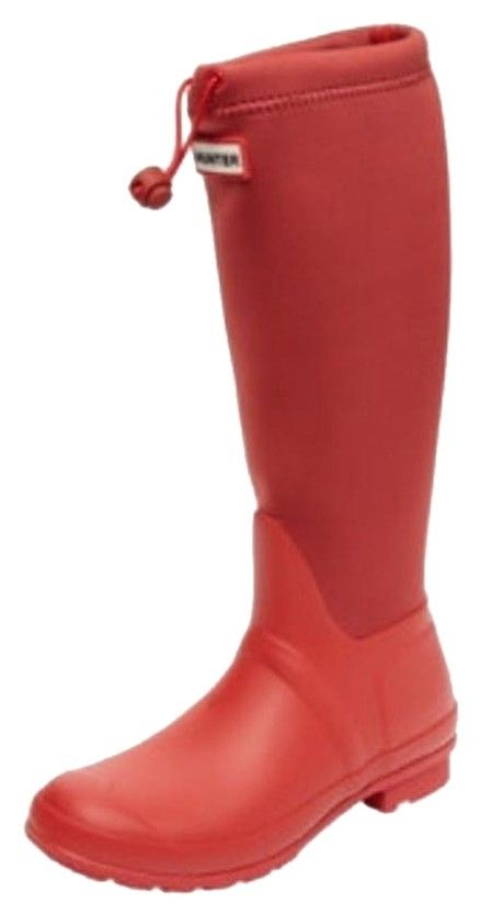 Hunter Neoprene Wellington Hunter Red Boots. Get the must-have boots of this season! These Hunter Neoprene Wellington Hunter Red Boots are a top 10 member favorite on Tradesy. Save on yours before they're sold out!