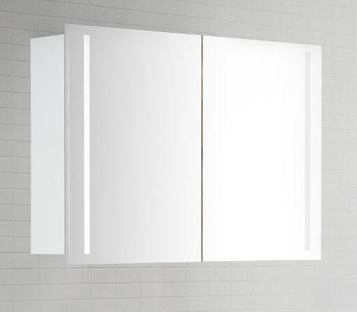 Die besten 25+ Spiegelschrank mit licht Ideen auf Pinterest - badezimmer spiegelschrank mit beleuchtung