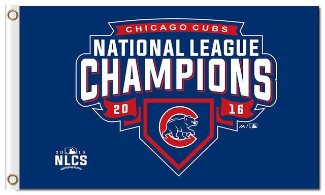 Chicago Cubs Team W Flag Football Banner 100% Polyester Digital Print Chicago CUB W Logo Custome 3X5FT Grommet 2016 Champions