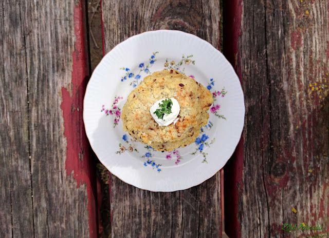 PaKölNi, azaz a PAdlizsán-Köles tócsNI (gluténmentes, laktózmentes, tojásmentes, vegán) / Recept / padlizsán, vöröshagyma, köles, só, bors, oregánó, kókuszzsír, lenmag, útifűmaghéj