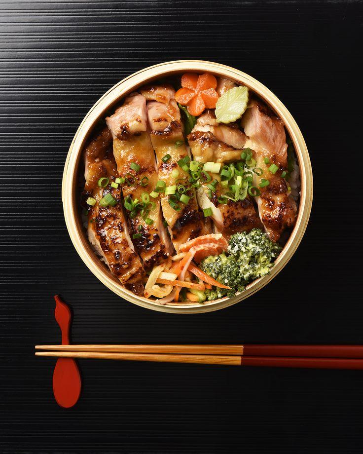 トンテキ風味のチキン弁当/ Tonteki-Style Chicken Bento お弁当を作ったら #edit_jp で投稿してね!