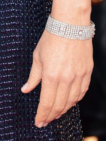 Jodie Foster Golden Globes Nails 2013 | Primped
