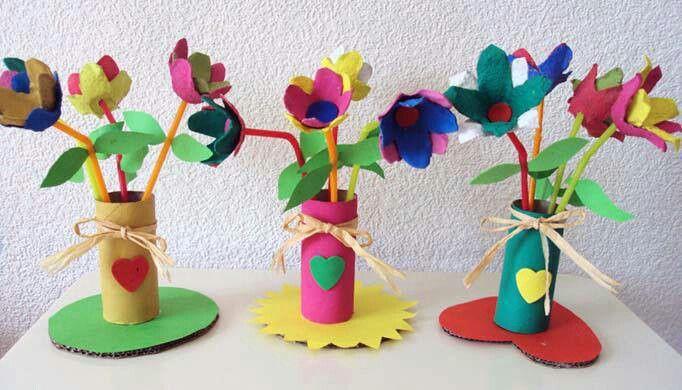 Flors amb oueres