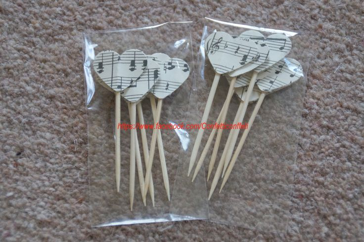 Music Sheet Hearts