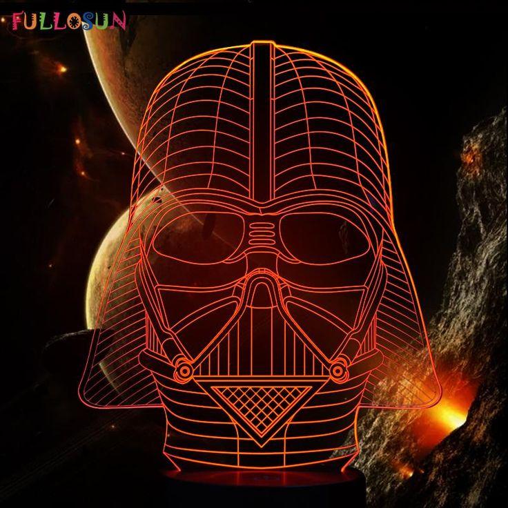 Darth Vader 3D Led Light