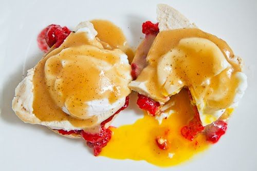 Thanksgiving Leftovers Eggs Benedict