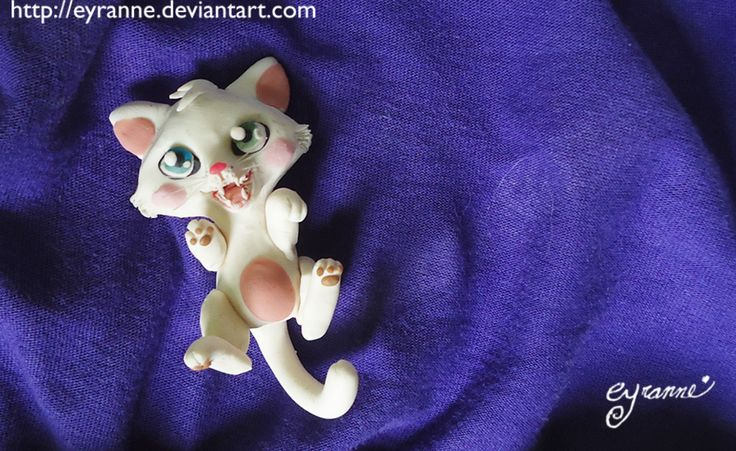 Skyly by *Eyranne --- Someone suggested Skyly. It's a bit weird, but I liked it for her!   Modeling clay, 4cm --- Totally adorable !