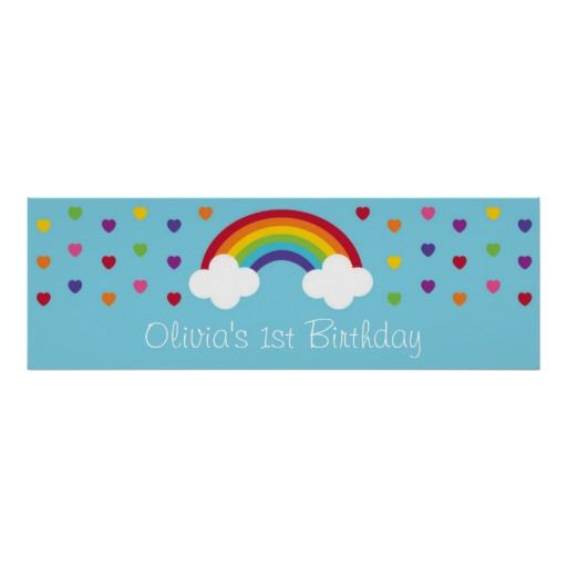29 Best Images About Rainbow Birthday Party Baby Shower On