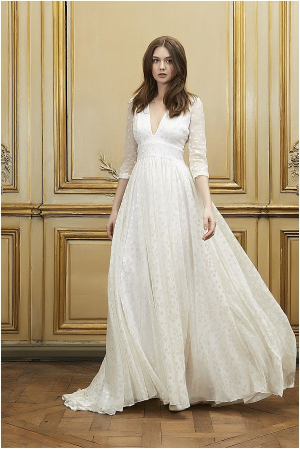 Delphine Manivet 2015 Collection, read more at http://www.frenchweddingstyle.com/delphine-manivet-2015-collection/