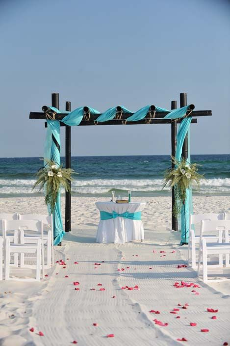 262 Best Images About Blue Beach Wedding On Pinterest