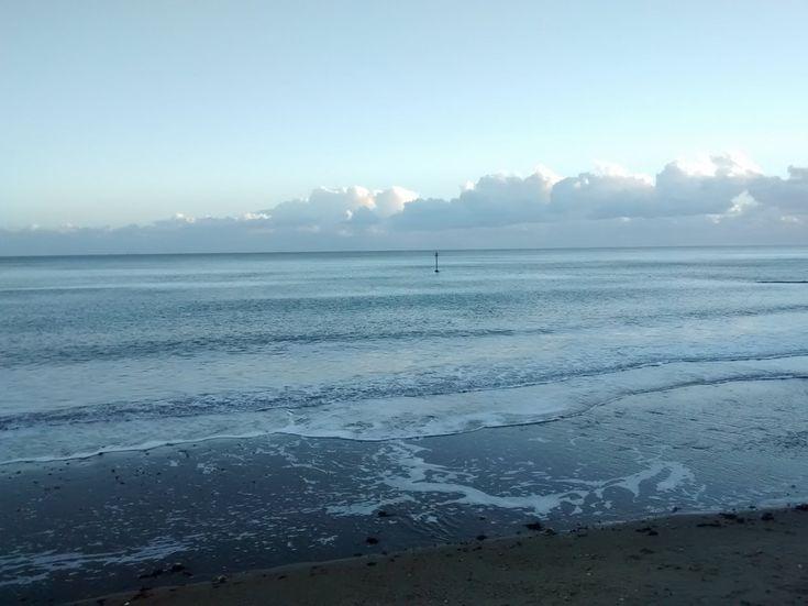 The sea at Sandown, Isle of Wight