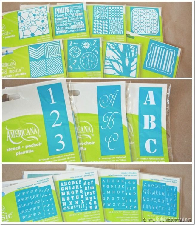 Free Letter Stencils For Chalk Boards