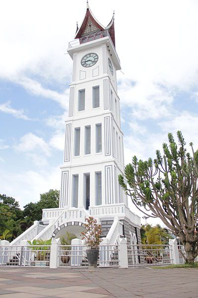 Jam Gadang Clock Tower in Bukit Tinggi