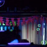 Glow in the Dark Birthday Party Decoration Ideas Neon Bunting