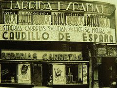 Sederias Carretas .Primera tienda origen de Galrias Preciados en la cale Carretas de Madrid