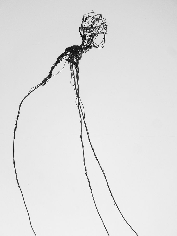 Wire work - Mieke Legeland