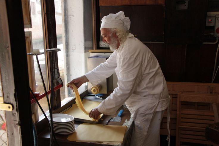 La pasta fatta in casa Osteria Paradiso Perduto - Cannaregio, 2540 - Venice - http://ilparadisoperduto.wordpress.com