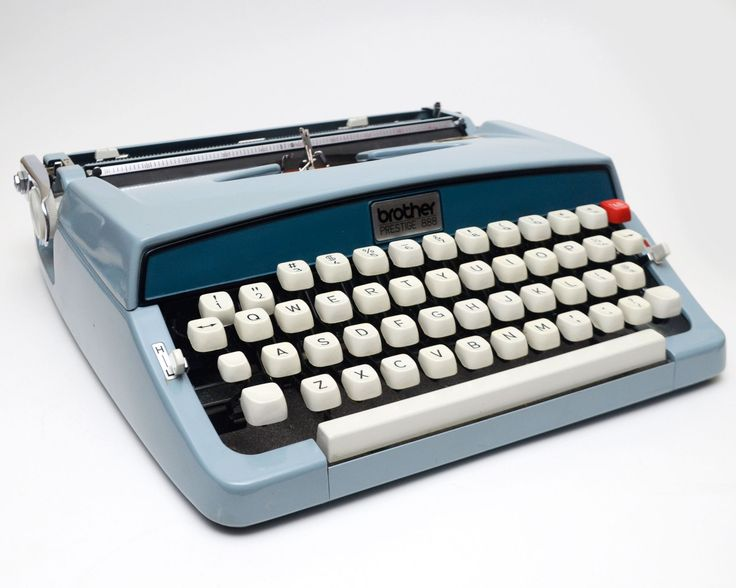 Vintage Brother Prestige 888 Portable Manual Typewriter by ValueBliss on Etsy