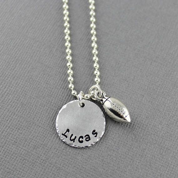 Personalized Little Boy Necklace  Little Boys Jewelry