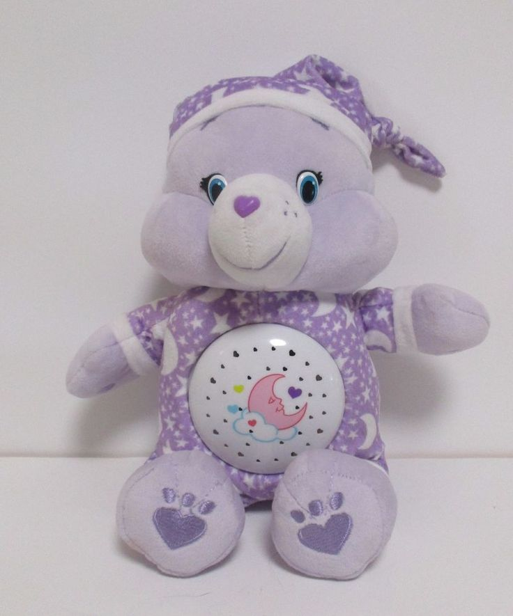 Care Bear Sweet Dreams Bear  Night Light Bear Color Change Lights Talks Music #JustPlay #AllOccasion