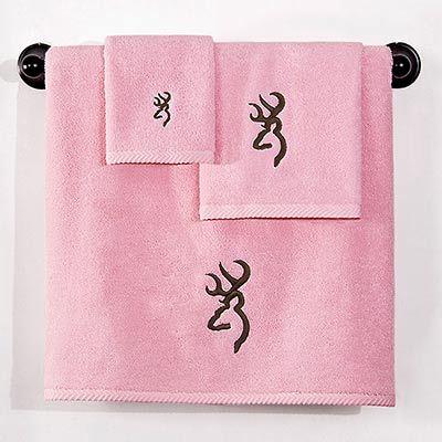 browning camo for the bathroom | Home » Bedding » Camouflage Bedding » Browning Buckmark Pink Bath ...