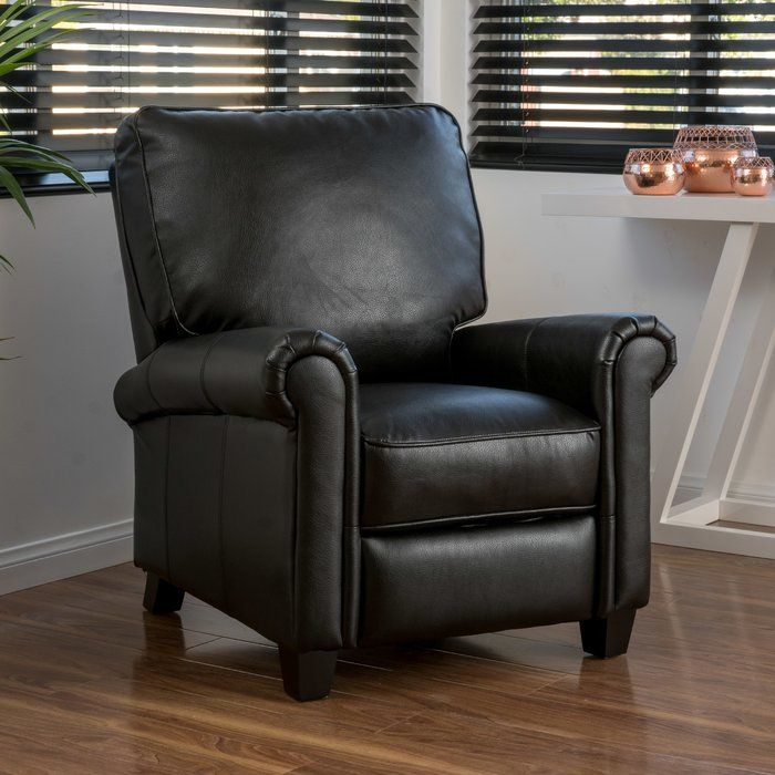 Basco Manual Recliner Furniture Leather Recliner Club Chairs