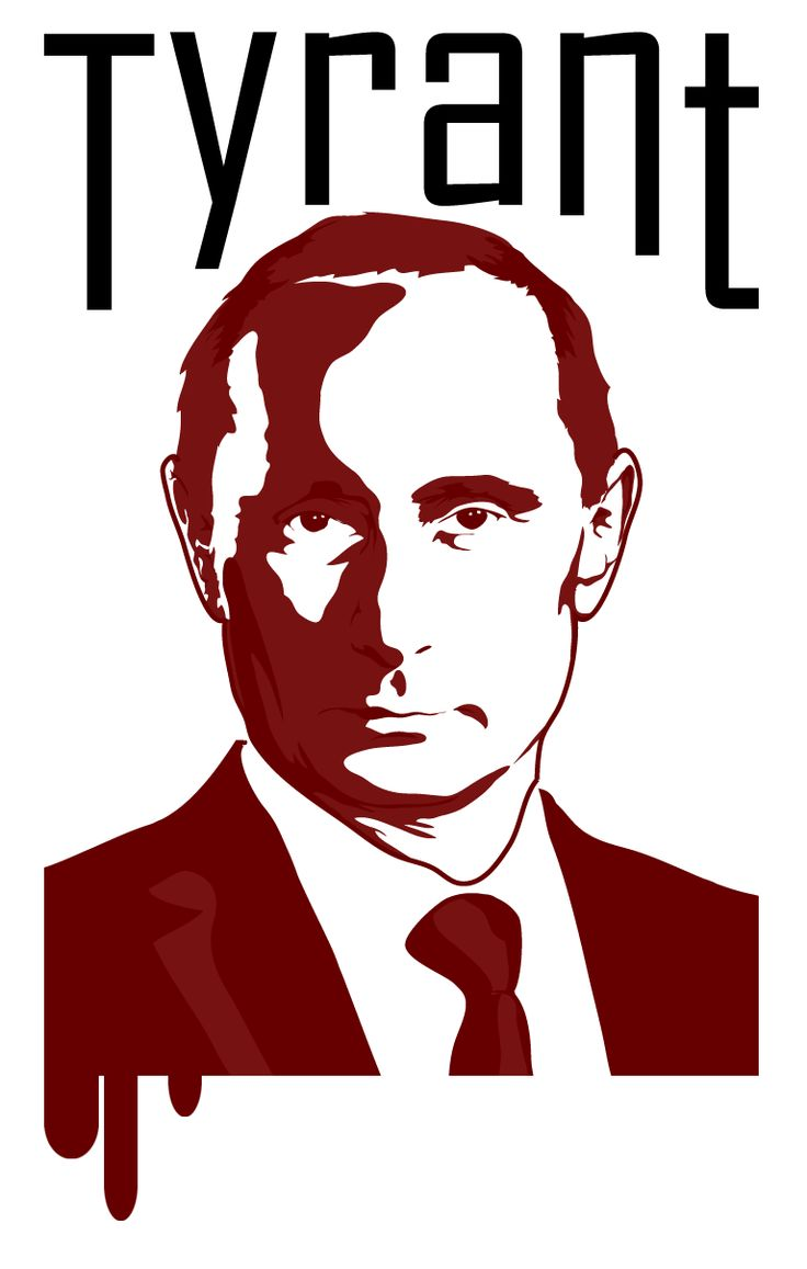 Done quick and dirty, just like the man's politics.  I probably won't be able to travel to Russia now that I made this :P