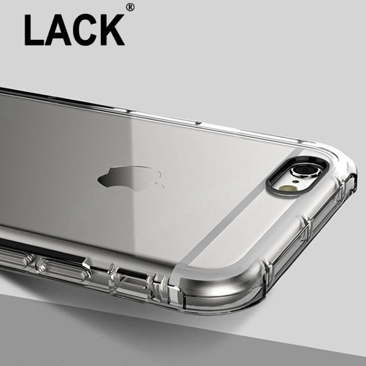 Anti Knock Shockproof Rugged Hybrid Rubber Armor Transparent Soft TPU Case For iPhone 5S 5 SE / 6 6S/ 6s Plus Cover Phone Cases ** Find out more by clicking the image