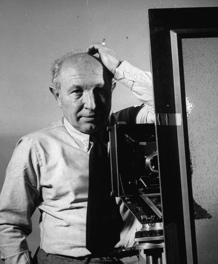 LIFE Photographer Dmitri Kessel, photographed by his colleague Frank Scherschel in 1955 | LIFE archive