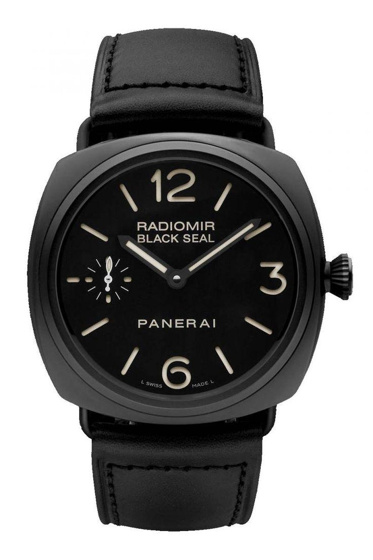 Officine Panerai PAM00292 Radiomir Black Seal Ceramica. #panerai - черные - швейцарские мужские наручные часы