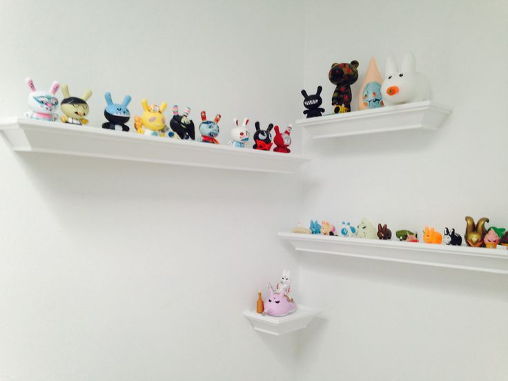At the top of the stairs lies a magical Munny/Dunny land #diy #storage #solutions c/o bothwellfarringtondesign.ca