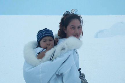 nunavut's culture on cloth