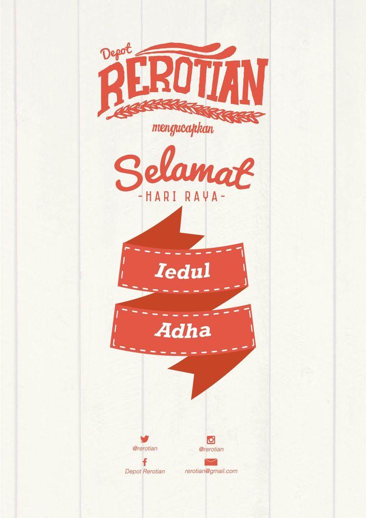 poster Design for Idul Adha. By : Anis Wuku