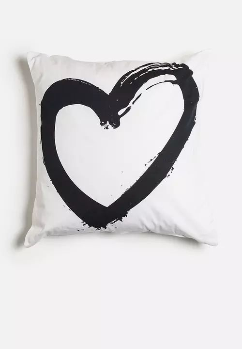 Heart Cushion Superbalist Cushions Scatter   Superbalist.com