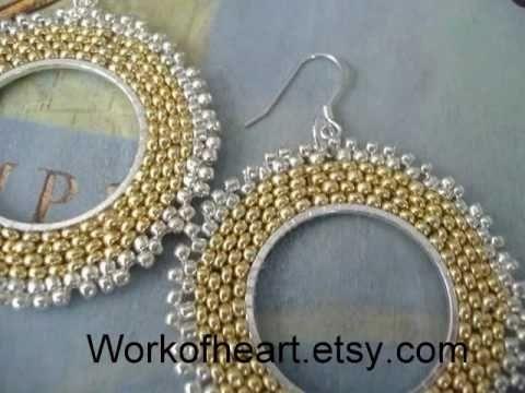 Hoop Earrings by WorkofHeart.etsy.com