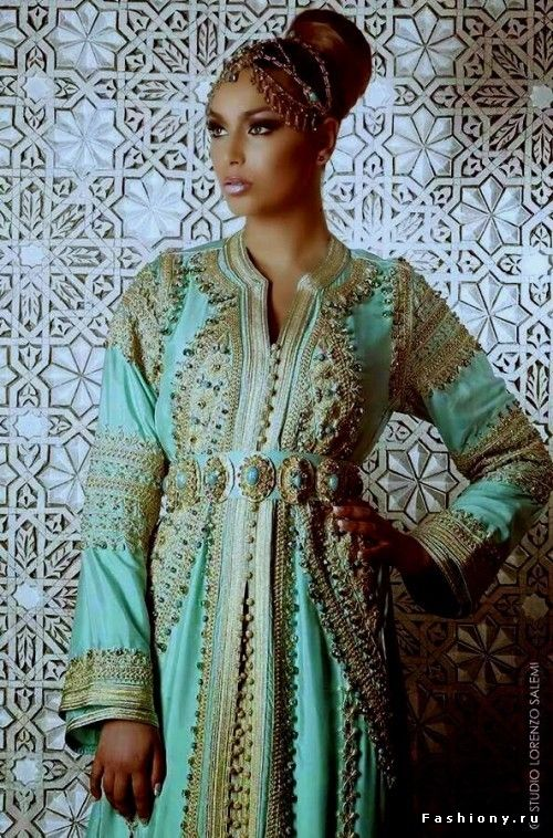 Марокканский кафтан