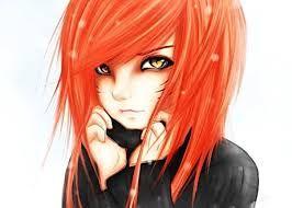 Аниме картинки девушек с рыжими волосами