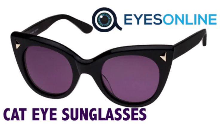 Cat Eye Sunglasses Collection - EYESONLINE