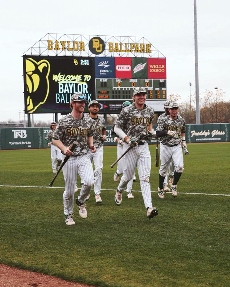 Baylor University Baseball Team in 2020 Baylor athletics