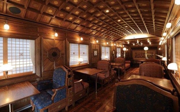 Viaggi 2016 di lusso made in Japan - Nanatsuboshi: il treno di lusso a sette stelle giapponese.
