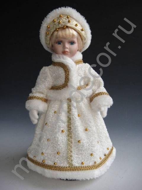 """Декоративная кукла """"Снегурочка"""", новогоднее украшение — купить в интернет-магазине"""