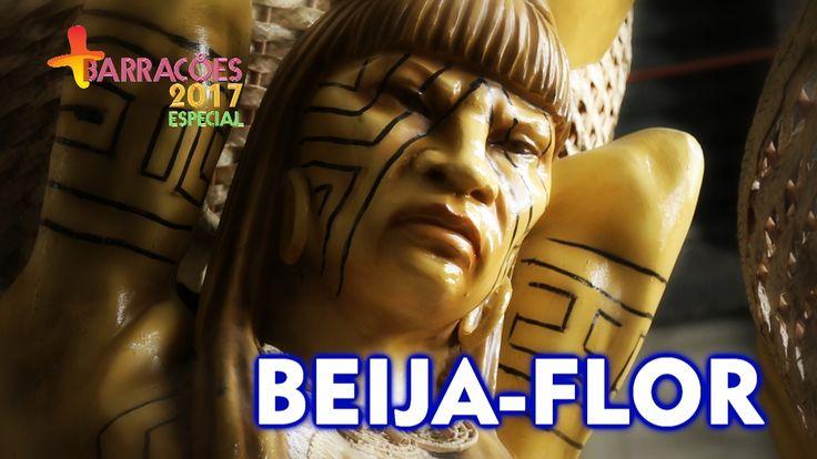 🏹 Barracão da Beija-Flor de Nilópolis para o Carnaval 2017 🏹