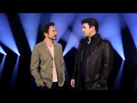 Nathan Fillion and Robert Downey Jr. discuss their characters. <3 They are so dorktastic